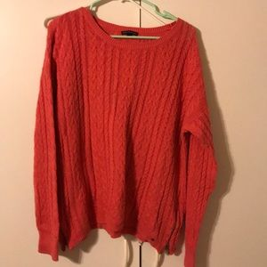 American Eagle side zip sweater szXXL